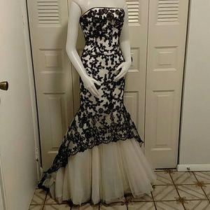 Stunning vintage tiffany design's dress